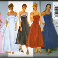 Butterick Pattern 6405 Misses/Misses Petite Dress and Stole Size 12 14 16