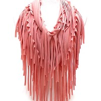 Cozy by LuLu -Your Favorite New Scarf Coral