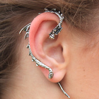 sirenlondon — Darling Dragon Ear Cuff