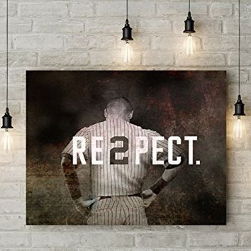 Derek Jeter New York Yankee Photo Art Print
