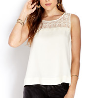 Eyelash Lace Top