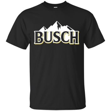 Busch Beer Mountains Logo Tee