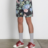 "Barney Cools Navy Floral Classic 17"" Shorts 