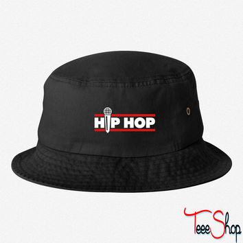 hip hop bucket hat