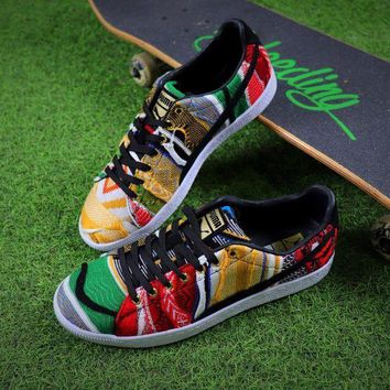 onetow best online sale the notorious b i g coogi x puma suede classic color fabric low shoes  number 1