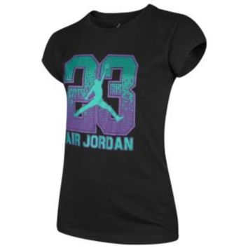 Jordan Sparkle 23 Graphic T-Shirt - Girls' Grade School at Eastbay