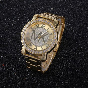 MK Stylish Fashion Casual Designer Watch ON SALE With Thanksgiving Golden G