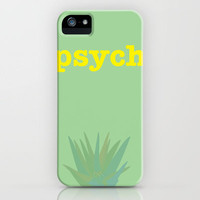 Psych! iPhone Case by Apricot | Society6