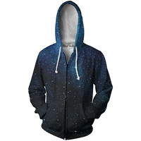 Starry Starry Night Zip-Up Hoodie