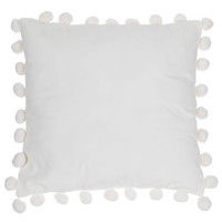 White Pom Pom Pillow | Hobby Lobby | 1640937