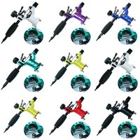 Besta 7 Colors Dragonfly Rotary Tattoo Machine Shader & Liner Tatoo Motor Gun Kits Supply For Artists With Needle Grip tattoo