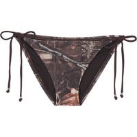 Realtree Junior's MAX-4 String Slide-Tie Swim Bottom