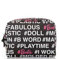 FOREVER 21 #Barbie Cosmetic Pouch