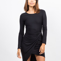 Knot It Long Sleeve Dress