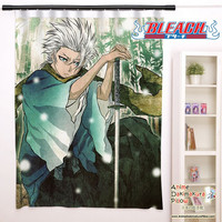 New Toshiro Hitsugaya - Bleach Anime Japanese Window Curtain Door Entrance Room Partition H0141
