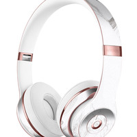 Mixtured Gray 523 Textured Marble Full-Body Skin Kit for the Beats by Dre Solo 3 Wireless Headphones