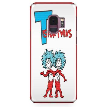 Thing 1 And Thing 2 Samsung Galaxy S9 Plus Case | Casescraft