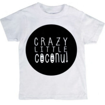 Coco & Ivory - Crazy Little Coconut Tee - Little S & Co