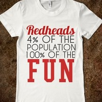 Supermarket: Redheads Are More Fun from Glamfoxx Shirts