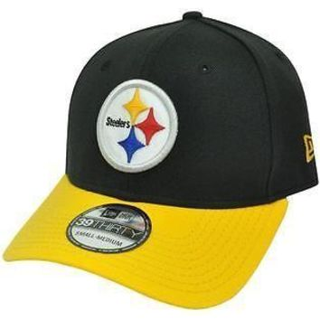 Pittsburgh Steelers Hat 39Thirty TD Classic Cap By New Era NEW