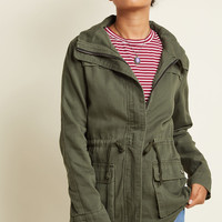 Escape Into Nature Jacket in Moss