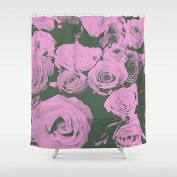 Mother May I Shower Curtain by Ducky B