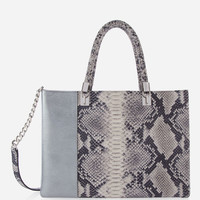 Limited Edition Plaza Blocked Shopper