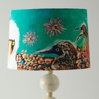 Ashley Longshore Archipelago Lampshade in Multi Size: