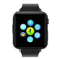 Black Bluetooth Smart Watch Phone with Call Answer, Phone Book