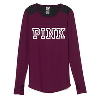 Ultimate Colorblock Long Sleeve - PINK - Victoria's Secret