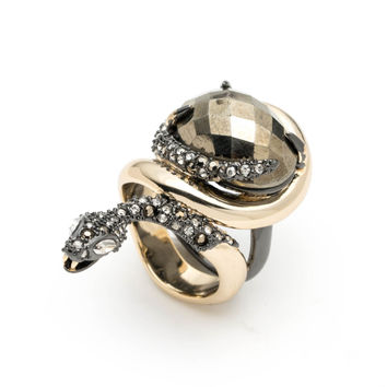 Coiled Snake Ring | Alexis Bittar