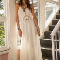 Hope Maxi Dress Off White - Arnhem Clothing