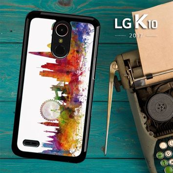London Skyline Watercolor V0202 LG K10 2017 / LG K20 Plus / LG Harmony Case