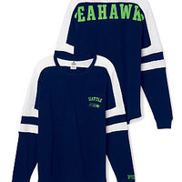 Seattle Seahawks Pocket Varsity Crew - PINK - Victoria's Secret