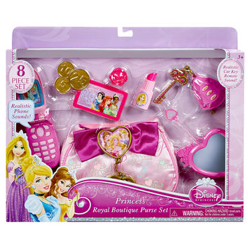 Disney Princess Royal Boutique Purse Set