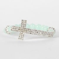 BKE Cross Bracelet - Women's Accessories | Buckle