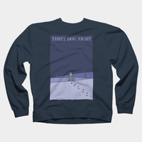 Three Dog Night Crewneck By BlackLineWhite Design By Humans