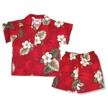 lava hawaiian boy cabana set