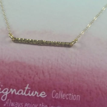 SIGNATURE COLLECTION - Simply Charmed Line - Dolphin Necklace - Mother's Day Gift