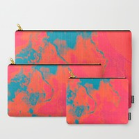 Pixelated Carry-All Pouch by duckyb