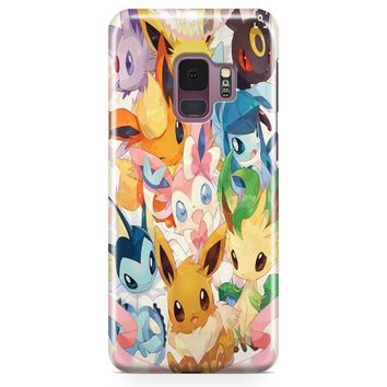 Eevee Evolution Samsung Galaxy S9 Case | Casefantasy