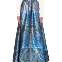 TEMPERLEY LONDON - Floral-print maxi skirt | Selfridges.com