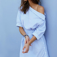 Santa Monica Dreams Shirt Dress