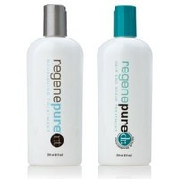 Regenepure - DR + NT KIT Anti Dandruff Shampoo, for Hair Loss Prevention and Treatment in Men and Women, 8 oz each