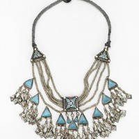 Silk Road Stone Roses Necklace - Urban Outfitters