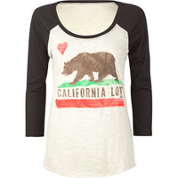 Billabong Schools Out Womens Tee Black  In Sizes
