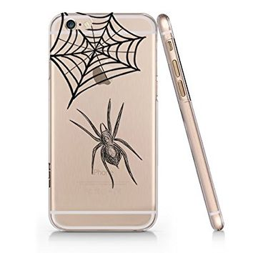 Spider Slim Iphone 6 6s Case, Clear Iphone Hard Cover Case For Apple Iphone 6 6s Emerishop (NLA117.6sl)