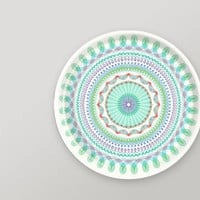 Folk Stripe 15 inch Tray in Aqua - Gretel