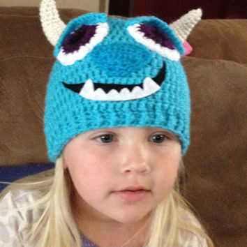 Sulley from Monsters Inc./ University Baby Outfit - Photo Prop - Newborn to 12 Months