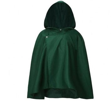Cool Attack on Titan Japanese Hoodie  Cloak No  Scouting Legion Cosplay Costume Anime Cosplay Cape Mens Clothes AT_90_11